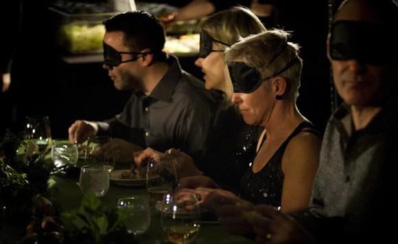 Blind-belevings-diner